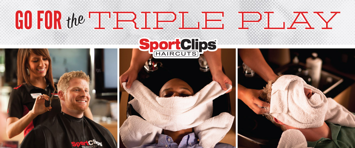 The Sport Clips Haircuts of New Providence  Triple Play